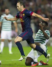 Foto de El Barça vence in extremis al Celtic de Glasgow