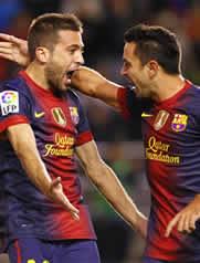 Foto de El Barça golea 0-5 al Rayo en Vallecas