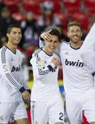 Foto de El Real Madrid golea 0-5 al Real Mallorca con otros dos goles de Ronaldo