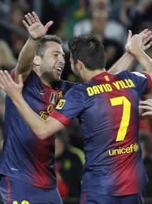 Foto de El F.C. Barcelona vence 3-1 al Celta