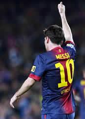 Foto de EL F.C. Barcelona vence 3-1 al Zaragoza con otro doblete de Messi