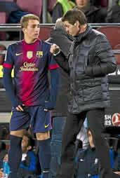 Foto de El F.C. Barcelona pasa a octavos venciendo 3-1 al Alavés