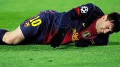 Foto de El F.C. Barcelona empata 0-0 con el Benfica con preocupación por Messi