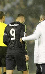 Foto de El Real Madrid cae 2-1 en Vigo en la ida de Copa