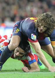 Foto de El F.C. Barcelona vence 4-1 al Atlético de Madrid y se destaca en la Liga