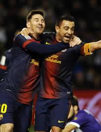 Foto de El F.C. Barcelona suma y sigue al vence 1-3 al Real Valladolid