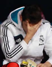 Foto de El Real Madrid cae 3-2 en Málaga con Casillas en el banquillo