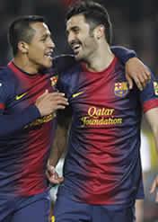 Foto de El Barça golea 5-0 al Córdoba en el trámite de vuelta de la copa