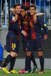 Foto de El F.C. Barcelona pasa a semifinales de Copa tras vencer 2-4 al Málaga