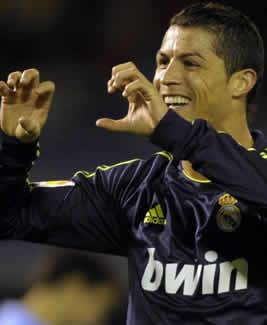 Foto de El Real Madrid vence 1-2 al Celta con doblete de Cristiano