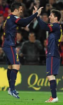 Foto de El F.C. Barcelona vence 3-1 al Rayo Vallecano