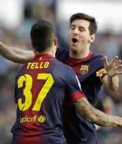 Foto de Empate 2-2 del Barça en Vigo en la vuelta perfecta de Messi