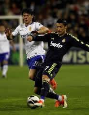 Foto de El Real Madrid empata a un gol en Zaragoza