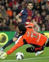 Foto de El Barça golea 5-0 al Real Mallorca en la reaparición de Eric Abidal