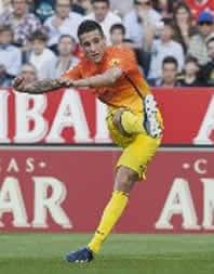 Foto de EL F.C. Barcelona golea 0-3 al Real Zaragoza