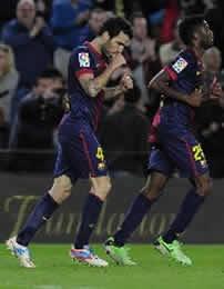 Foto de El Barça vence al Levante 1-0