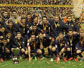 Foto de El F.C. Barcelona se hace con su séptima Copa Catalunya