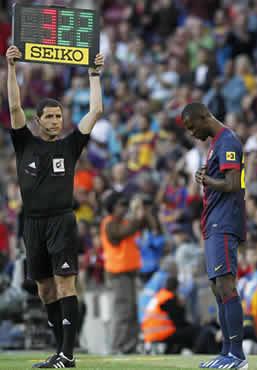 Foto de El Barça iguala el record de puntos de la Liga venciendo al Málaga 4-1