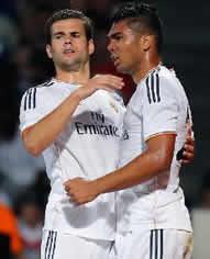 Foto de El Real Madrid empata 2-2 con el Olympique de Lyon