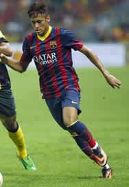 Foto de El F.C. Barcelona vence 1-3 al combinado de la liga Malaya