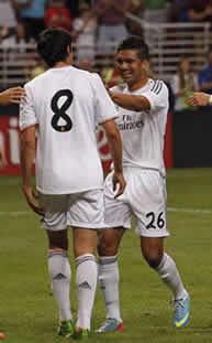 Foto de El Real Madrid acaba su gira en EEUU venciendo 3-0 al Inter