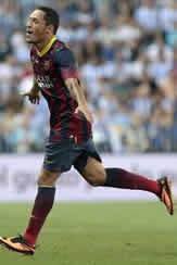 Foto de El F.C. Barcelona vence 0-1 al Málaga
