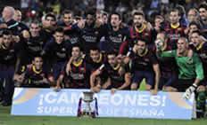 Foto de El Barça se hace con la Supercopa empatando 0-0 ante un correoso Atlético