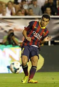Foto de El F.C. Barcelona golea 0-4 al Rayo