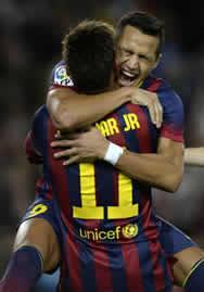 Foto de El F.C. Barcelona vence 1-0 al Espanyol