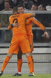 Foto de El Real Madrid empata 2-2 en Turín ante la Juve