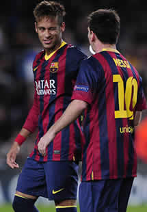 Foto de El F.C. Barcelona vence 3-1 al Milan y se clasifica en su grupo