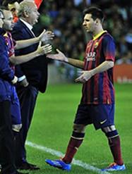 Foto de El F.C. Barcelona vence 1-4 al Betis pero vuelve a perder a Messi