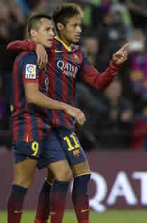 Foto de El F.C. Barcelona golea 4-0 al Granada