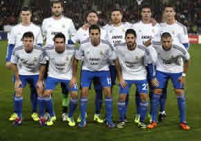 Foto de El Real Madrid golea 0-5 al Almería con susto de Cristiano