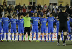 Foto de El Madrid no pasa del empate sin goles en Xativa