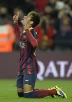Foto de El F.C. Barcelona vence 2-1 al Villarreal