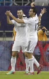 Foto de El Real Madrid vence al PSG 0-1 el amistoso de Doha
