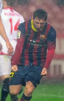 Foto de El F.C. Barcelona recupera el liderato venciendo 1-4 al Sevilla