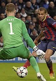 Foto de El Barça vence 0-2 al Manchester City
