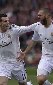 Foto de Tablas 2-2 entre Real Madrid y Atlético