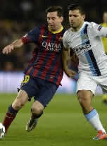 Foto de El Barça a cuartos eliminando al City al que vence 2-1 con un gran Messi