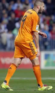 Foto de El Real Madrid vence 0-1 al Málaga