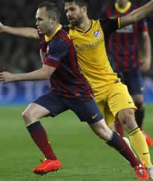 Foto de Tablas 1-1 en la Ida de Champions entre Barça y Altético de Madrid