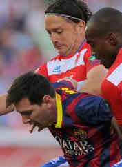 Foto de El Barça se complica la Liga cayendo 1-0 en Granada