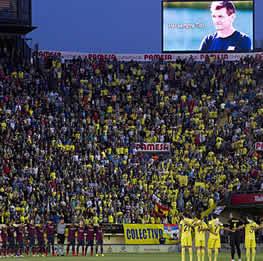 Foto de El Barça recuerda a Tito remontando con un 2-3 al Villarreal