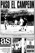 Portada diario As del día 18/2/1974