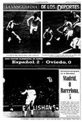 Portada diario La Vanguardia del día 18/2/1974