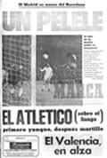 Portada diario Marca del día 18/2/1974