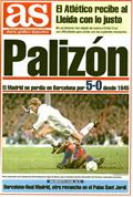 Portada diario As del día 9/1/1994