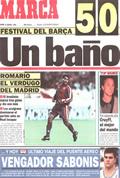 Portada diario Marca del día 9/1/1994